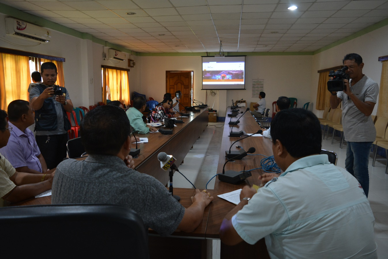 Inauguration of Website of Imphal West District by Deputy Commissioner, Imphal West