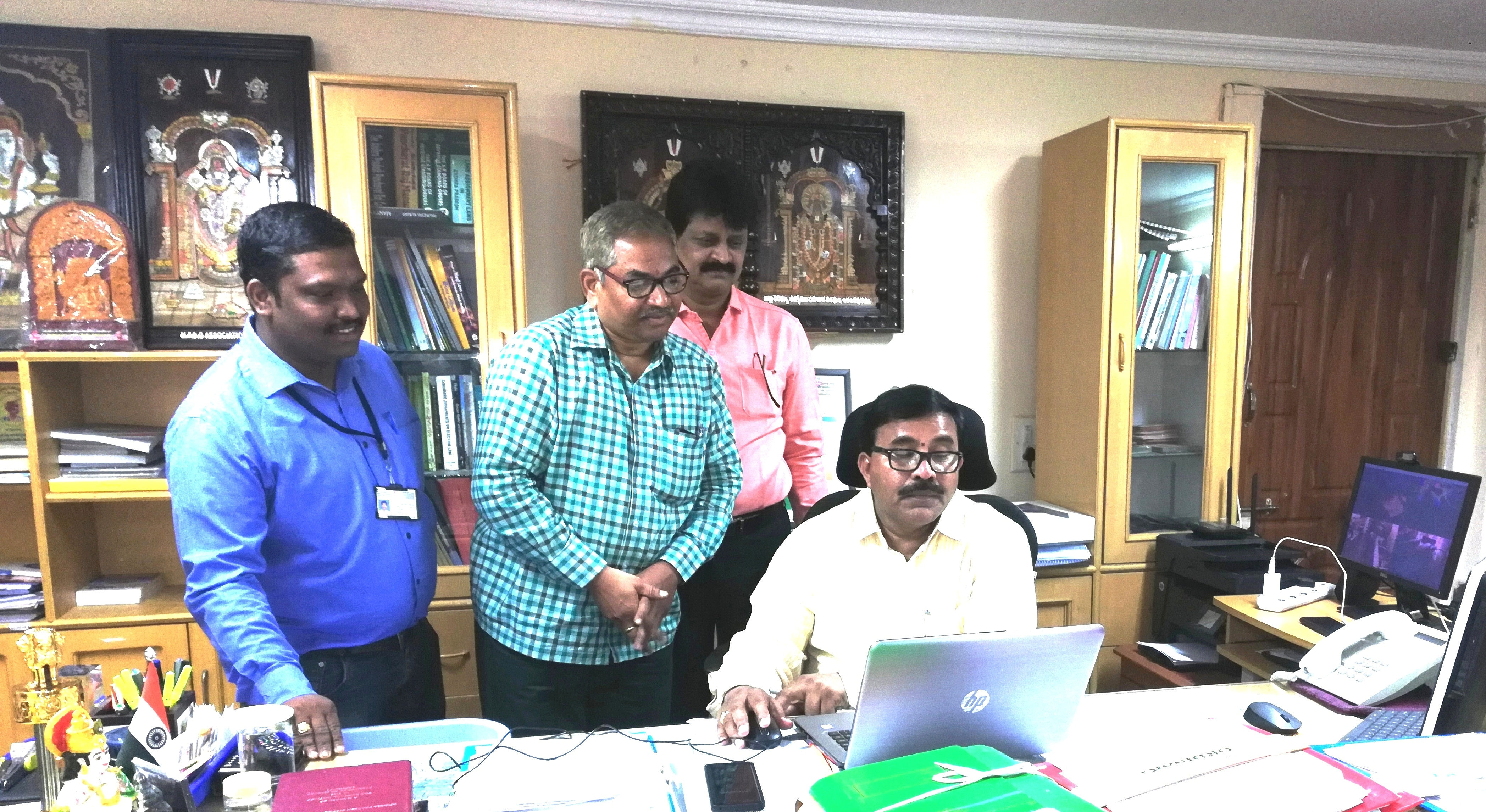 Kurnool District website Launch by District Collector