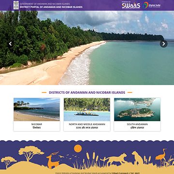Andaman And Nicobar Islands District Portal