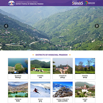 Himachal Pradesh District Portal