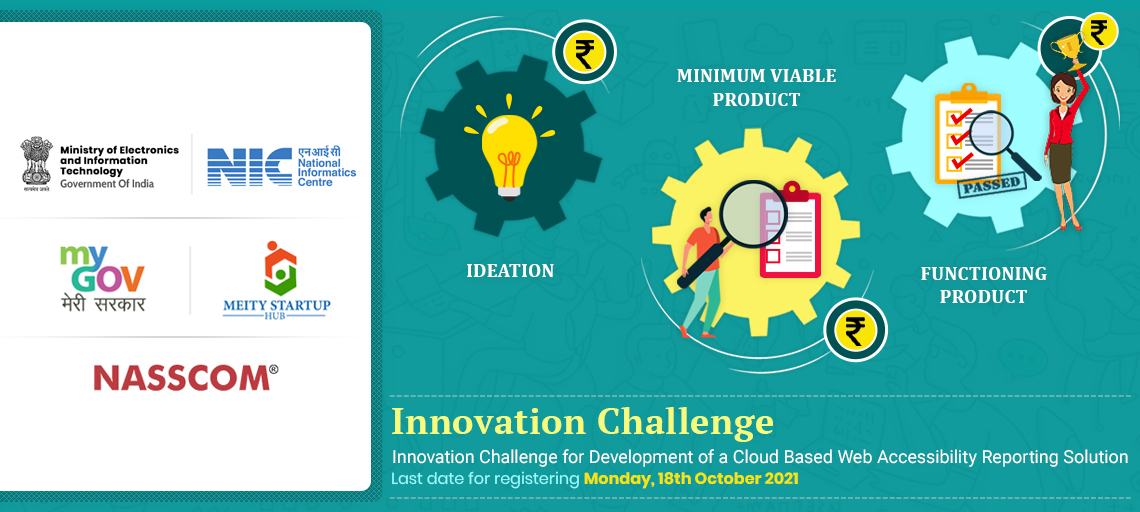 Innovation challege for development of cloud based accessibility reporting tool