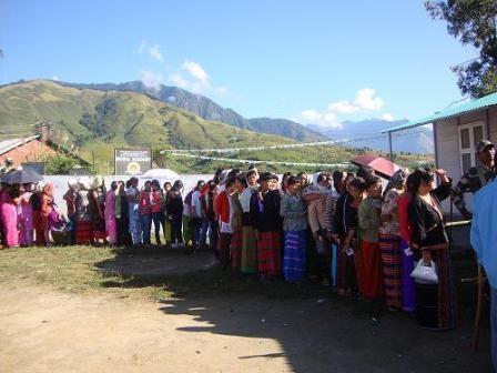 In Queue for vote cast