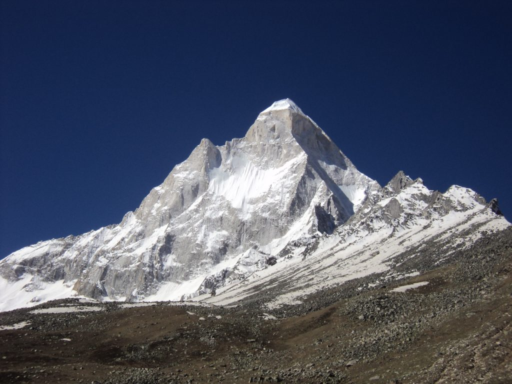 View of Snow Peak