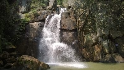 Daringbadi waterfall.