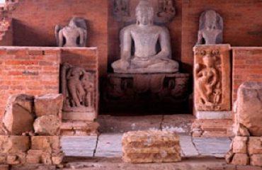 Statue of budha viharv sirpur