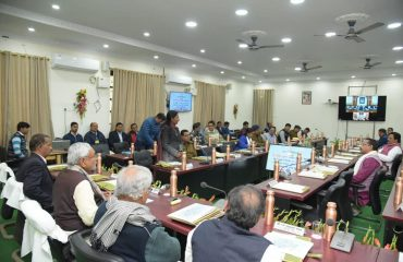 Review meeting in Collectorate
