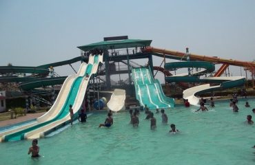 Water Park - children enjoying