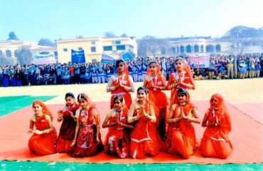 Cultural Programmes by school students on Voters Day