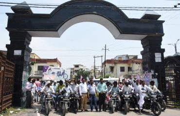 Awareness Rally in the district by officials regarding JE/AES Virus
