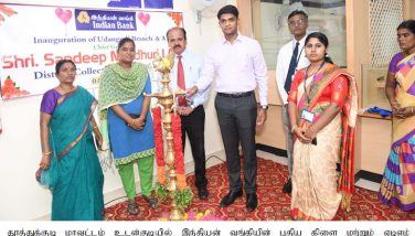 Collector Inaugurated the New branch of Indian Bank and ATM in Udangudi