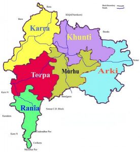 map of khunti district