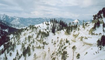 sadna hill in winter