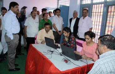 Aadhar Seeding by Administration Team