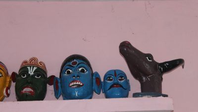 Idols made in Clay in Udaypur