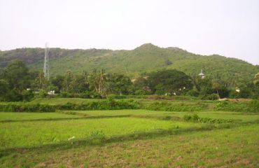 View of Rukhi Pahad,