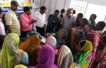 EVM and VVPAT Demonstration at booths