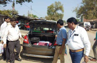 उड़नदस्ता दल (FST) द्वारा वाहन जांच