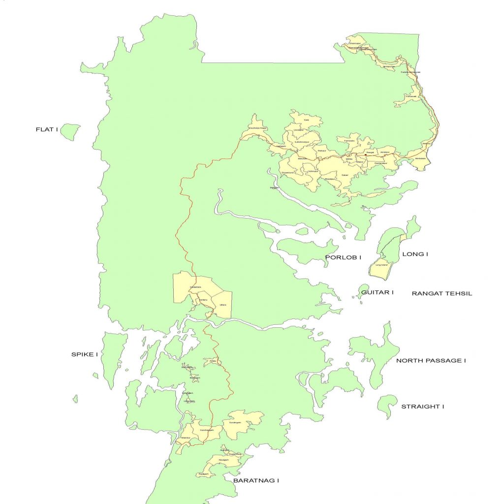Rangat Map Image