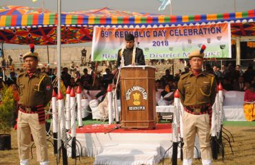 Speech by DC at Republic Day 2018
