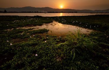 Evening view of Loktak Lake