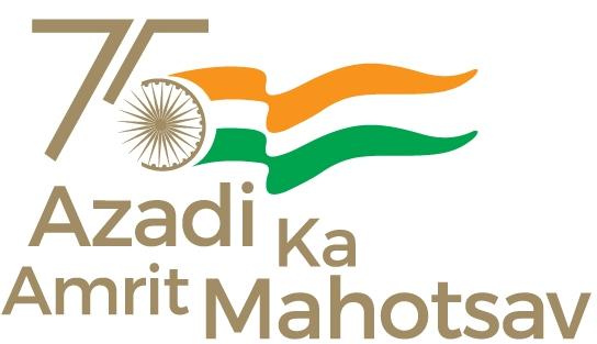 Azadi Ka Amrit Mahotsav Logo Eng.