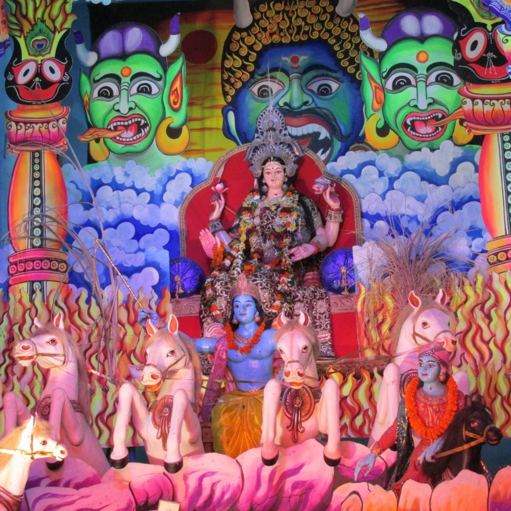 Gajalaxmi Puja at Kaibalya bazar