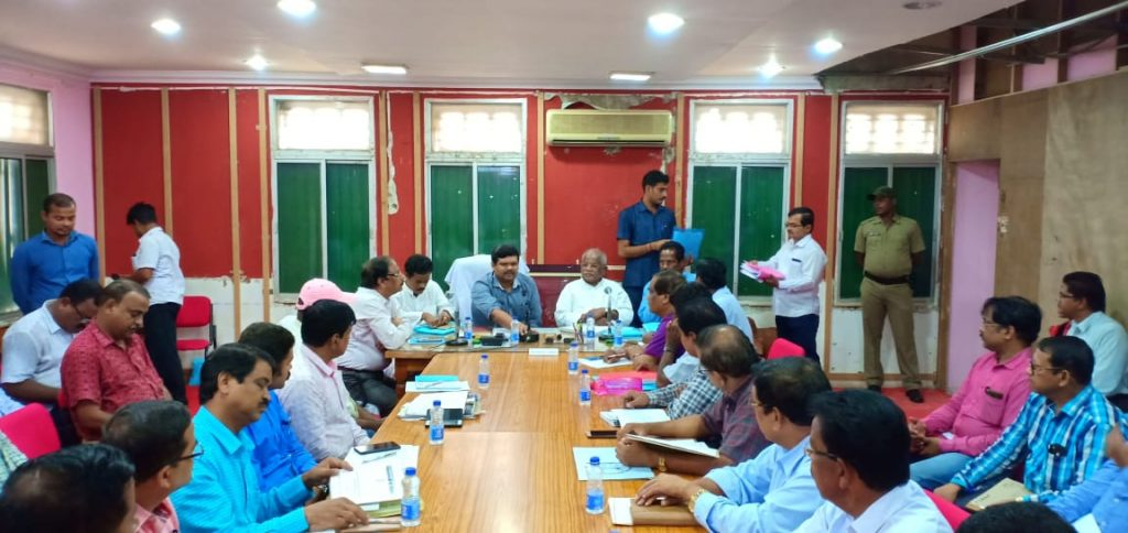 Review Meeting Dy chairman4