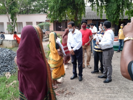 Distribution of essential commodities3