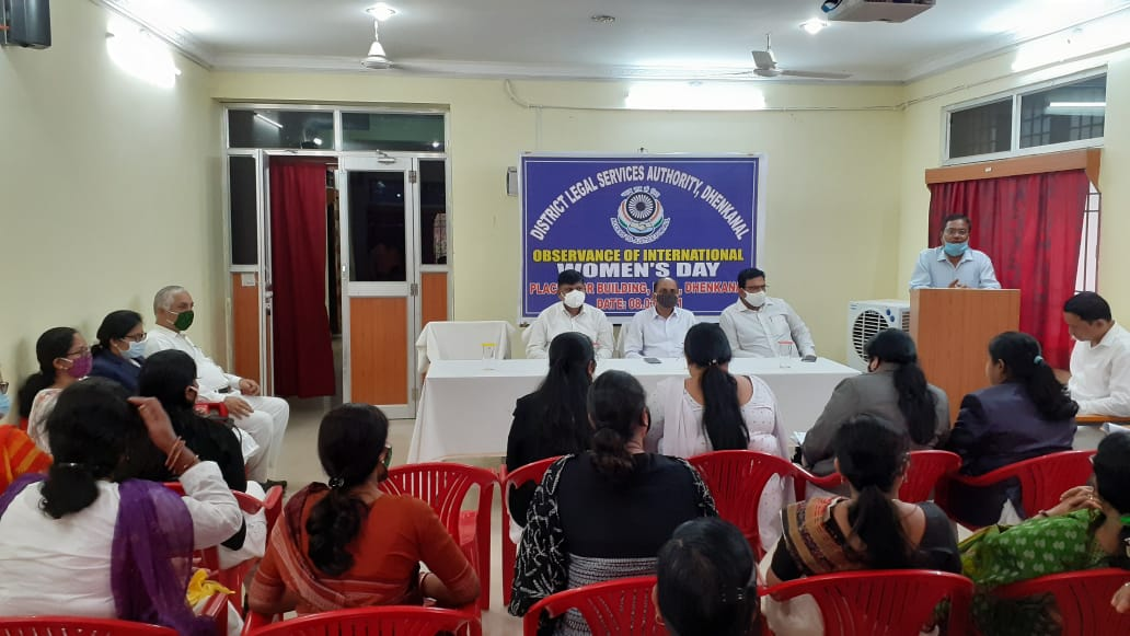 Celebration of World Womens Day ,Dhenkanal