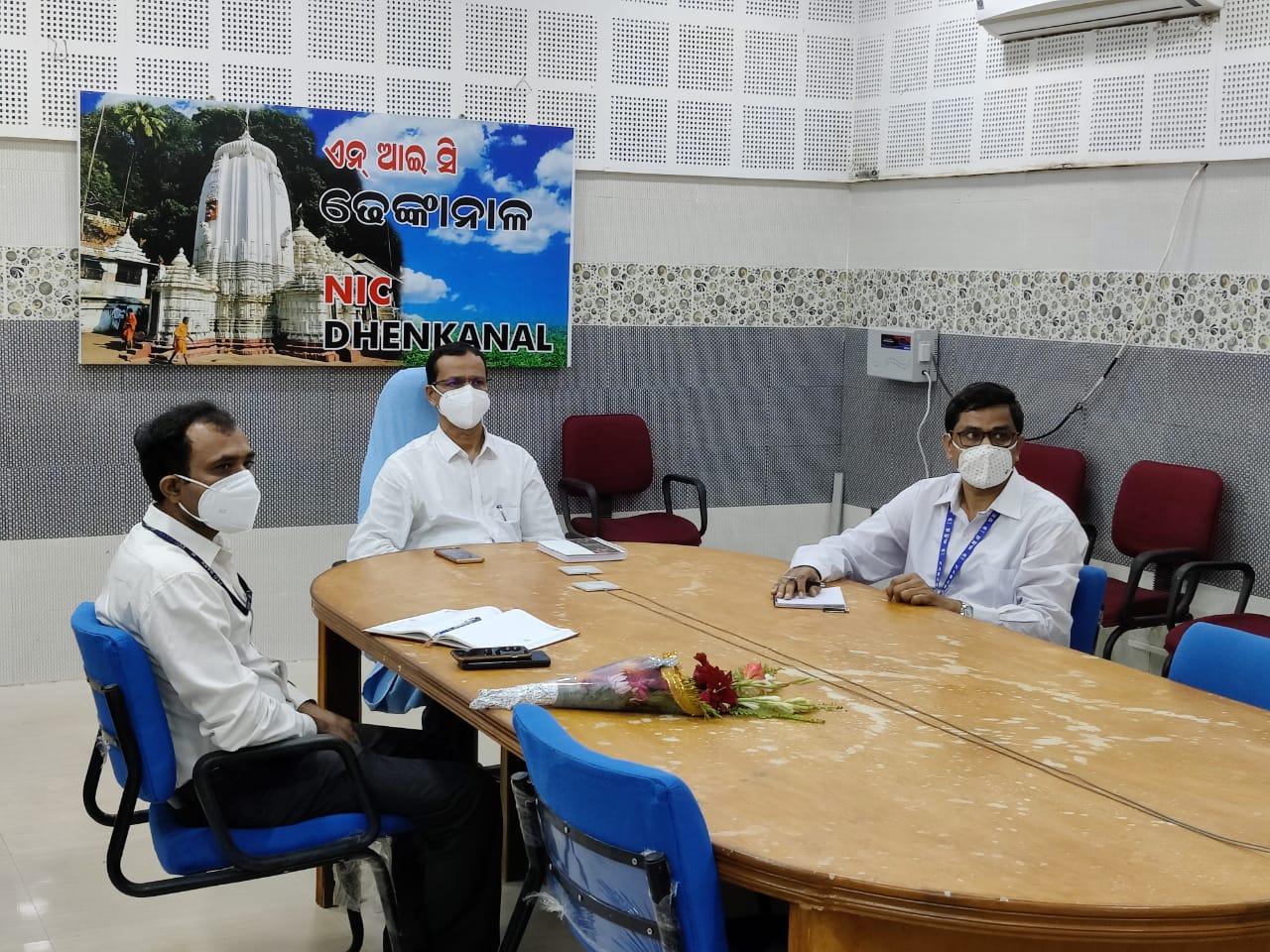 NABARD Foundation Day celebrated at Dhenkanal,Dt 20.07.2021