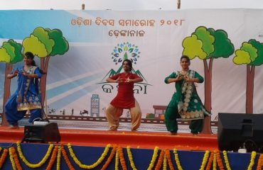 Stage Performance on kalpana