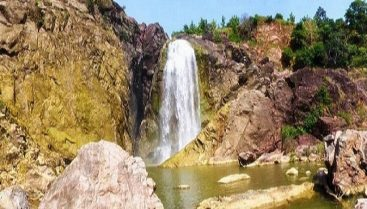 View of Gayatri Water Fall