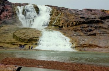 Kuntala Water Fall Front View