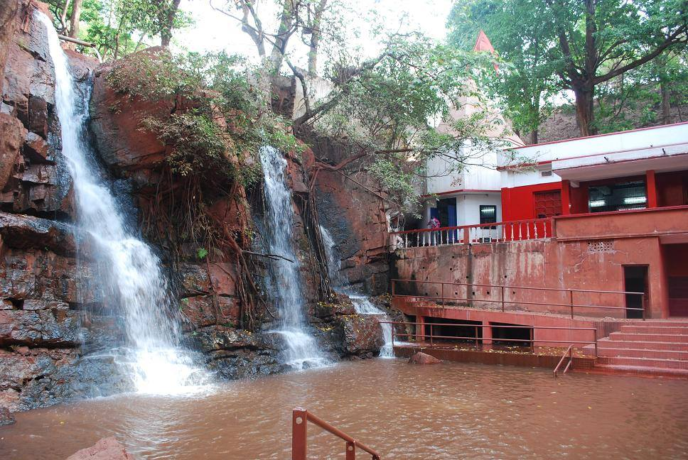 Murga Mahadev Temple, Kendujhar near beautiful waterfall