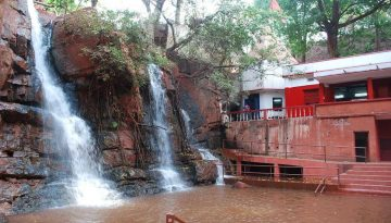 Murga Mahadev near beautiful Waterfall