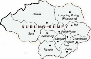 Map of Kurung Kumey
