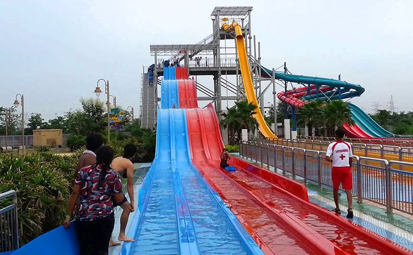 Water Slide 1 at Wonderland
