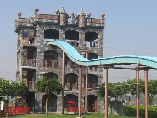 Water Slide top wonderland