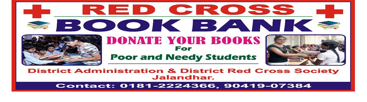 Red Cross Donate Books