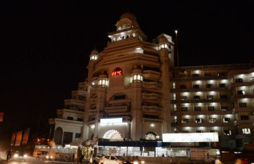 Night View of Guru Nanak Mission