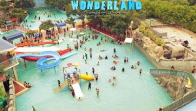 Top view of Wonderland