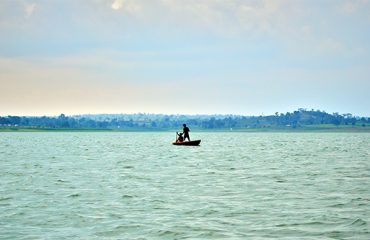 Kabini Dam Filled with Water