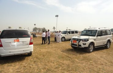 Site visit by District Magistrate, Superintendent of Police, Deputy Development Commissioner with Principle Secretary