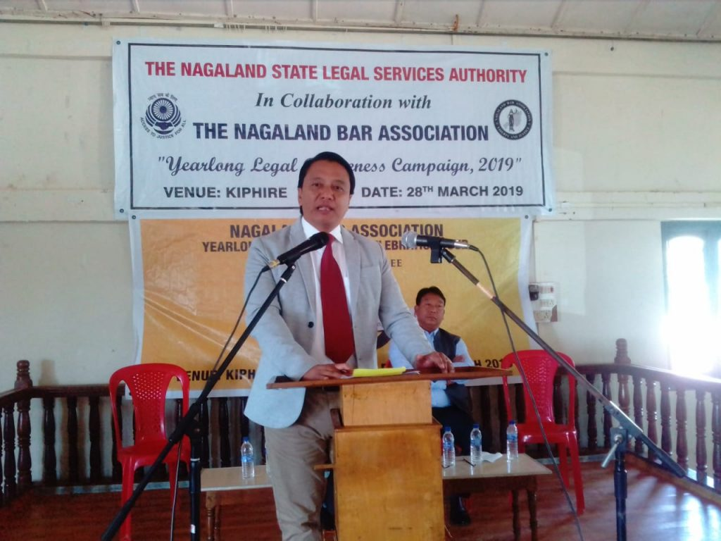 The Nagaland State Legal Service Authority in collaboration with the Nagaland Bar Association