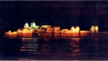Neermahal in Night