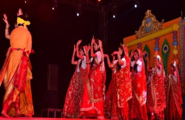 Group Dance Performed By Girls