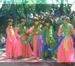 Children doing Kashmiri Dance