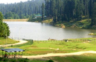 Yusmarg Dam with full water