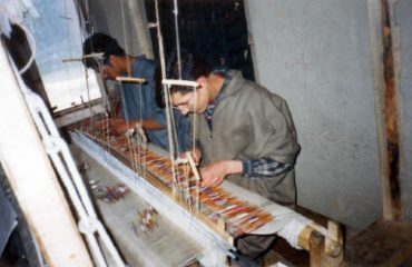 Structure of Weaving Shawl