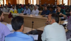 DDC Budgam reviews functioning of Panchayats in District